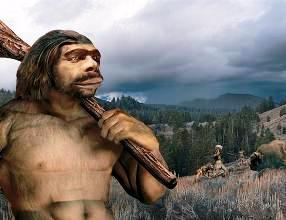 Древний человек не мог объяснить природные явления, и придумал бога